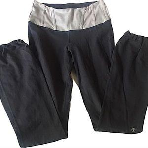 Lululemon Gray Two Toned Leggings Size 4